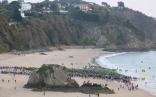 Swim start - North Beach