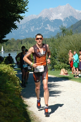 Chris Standidge at the Ironman 70.3 World Champs in Zel am See, August 2015