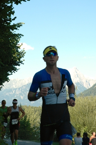 Colin Hill at the Ironman 70.3 World Champs in Zel am See, August 2015